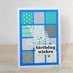 Unisex Birthday Card, Birthday Wishes