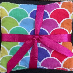 Reusable make-up wipes pack of 5