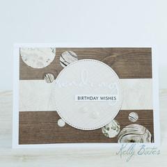 Sending Birthday Wishes, Unisex Birthday Card. Neutral Birthday Card