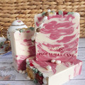 Pearls and Roses Handmade Artisan Soap with Shea and Cocoa Butter - Feminine