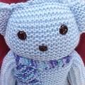 Little teddy blue