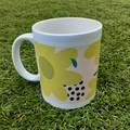 Yellow Floral Mug, Coffee Mug, Hot Cocoa Mug