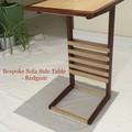 Bespoke Sofaside Table (Solid Wood)