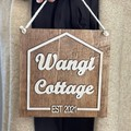 Personalised Wooden House Name Sign, 3D Sign - Kalghi Crafts Co