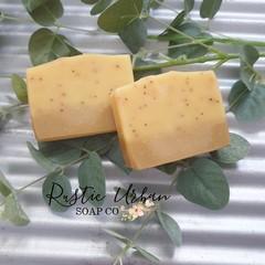 Sunshine: Lime & Lemon Myrtle Handmade vegan soap