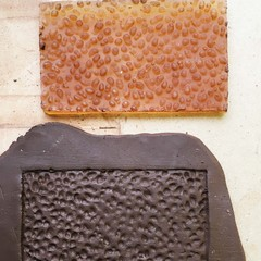 Texture Mat #3.  Rubber Texture mat for making impressions in clay