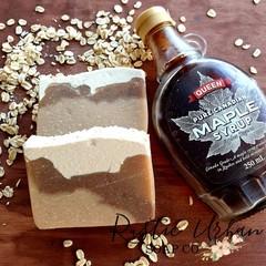 Comfort: Maple & Oat Handmade vegan soap
