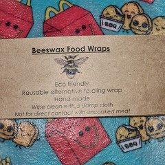 Beeswax Wraps Happy Meal