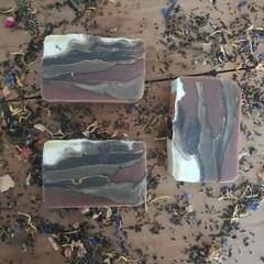 Double Shot: Almond Latte Handmade vegan soap