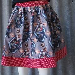 """Girls Skirt- """"Movie Characters"""""""