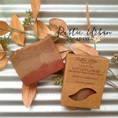 Buddha: Lotus, vanilla & patchouli handmade soap