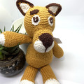 Amigurumi lioness, kids toy, toddler toy, crochet toys, educational toy, soft to