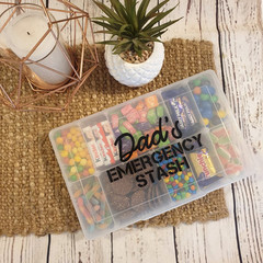 VINYL DECAL | DAD'S EMERGENCY STASH | FATHER'S DAY GIFT