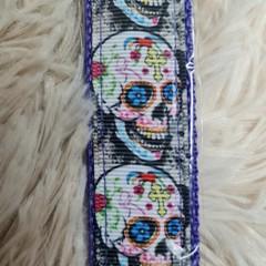 Wristlet Key Fob - Skull Design #1