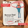 Personalised Card and Gift for Dad - Kalghi Crafts Co