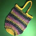 'Let's Go Shopping' Crochet Market Bag
