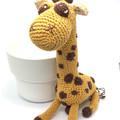 Giraffe Amigurumi, handmade soft toys, crochet giraffe, baby handmade soft toy,