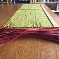 Diamond Pattern Fabric Woven - Table Runner