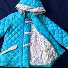 Quilted Duffle Coat Sizes 5 and 6