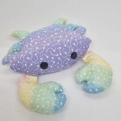 Handmade crab toy softie