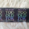 Wristlet Key Fob - Never Too Old For Disney