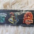 Wristlet Key Fob - Harry Potter House Shields