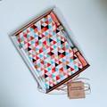 Gratitude Journal Gift Set, Personalised Gift, Multi-Triangles