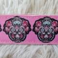 Wristlet Key Fob - Skull Design #5