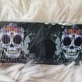 Wristlet Key Fob - Skull Design #3
