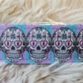 Wristlet Key Fob - Skulls #2
