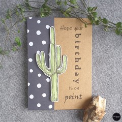Birthday Card   On Point - Free Shipping