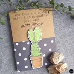 Birthday Card   Looking Sharp - Free Shipping