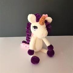 Gorgeous soft, velvet unicorn