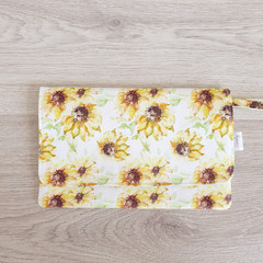 Feminine Hygiene Wallet - Sunflowers