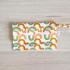 Feminine Hygiene Wallet - Rainbows
