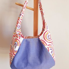 Laney Hobo Handbag - Rainbows