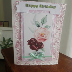 BIRTHDAY CARD FEMALE  ( Postage Included)