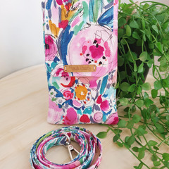 Mobile Phone Purse, Crossbody Cell Phone Case