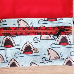 Feminine hygiene wallet  - Shark Week
