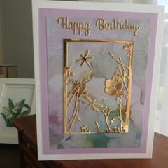 HAPPY BIRTHDAY - FEMALE CARD  (FREE POSTAGE)