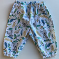 Blue koala Harem pants size 00