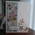 BIRTHDAY CARD - FEMALE   ( FREE POSTAGE )