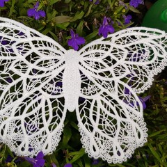 Battenburg lace  - Urban Threads Style Butterfly