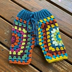 Lunar Pants - Crochet funky Lunaress original baby pants