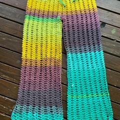 Crochet festival boho pants - hippy pants, festival clothing, beach pants, croch