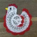 Batternburg Lace - Farm Yard Chicken