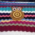 Retro Owl Rug