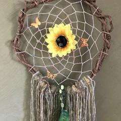 "D'Vine Dreamcatcher ""Sunflower Smiles"""