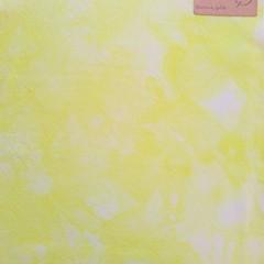 Hand dyed cross stitch fabric - 25 count - 'Banana Split'