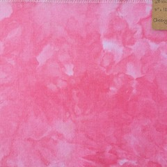 Hand dyed cross stitch fabric - 28 count - 'Cheery Pink 2'